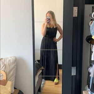 Banana Republic Black Gown